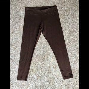 Time and Tru brown leggings.  Size medium